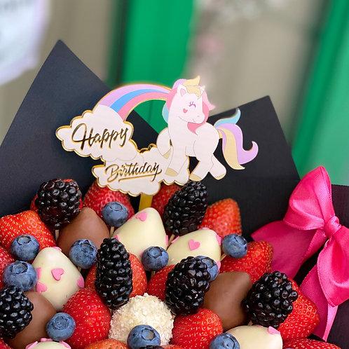 Топпер Unicorn 🦄 Happy Birthday