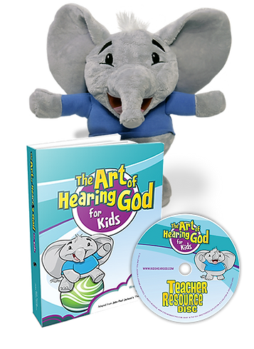 Art of Hearing God for Kids + Shamie Puppet