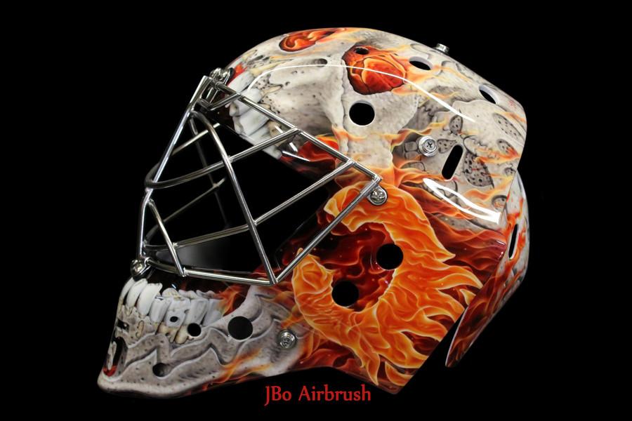 Jacob Markstrom Flames Mask