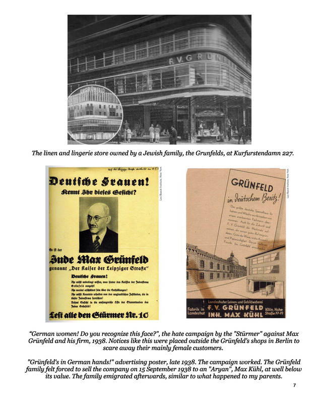 Narrative documents and photos