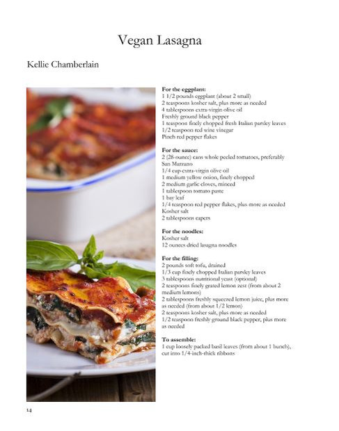 recipe page - vertical