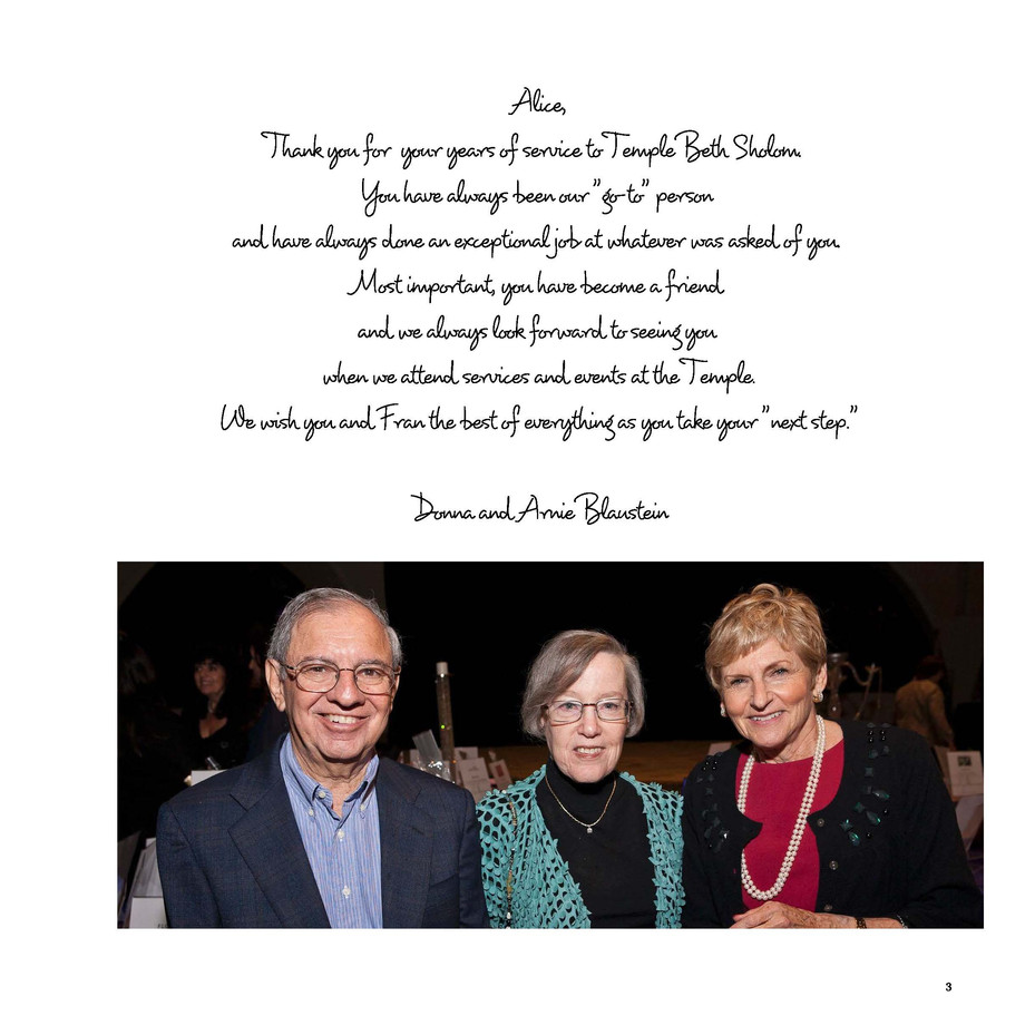 Tribute - full page