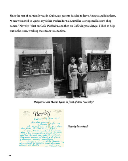 Narrative page with photo