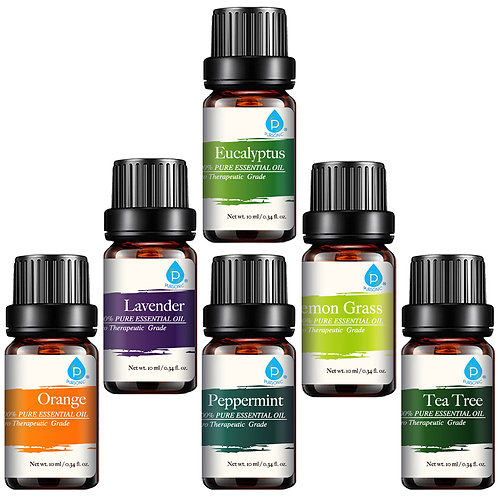 Set of 6 Essential Oils