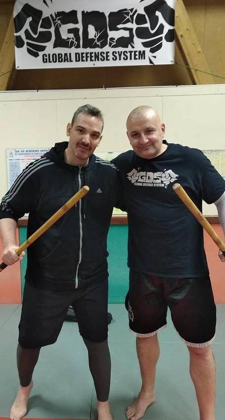 Enguerran Denizet and Pascal Gilles