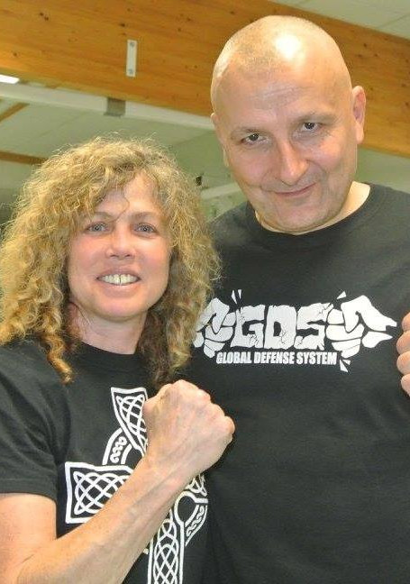 Kathy Long and Pascal Gilles