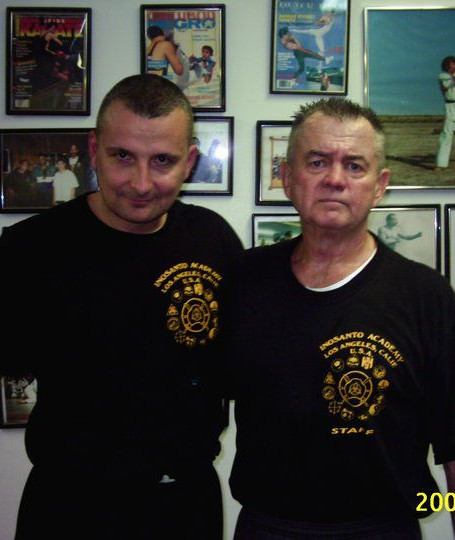Larry Hartsell and Pascal Gilles