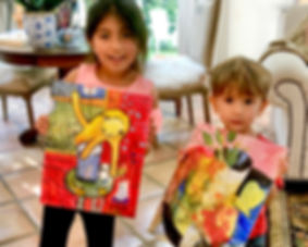 *March* Peanuts Picassos Painting Workshop (5-10 years)