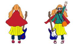 少女自販機キャラクターデザイン