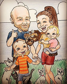 How awesome is this little family_!_ I w