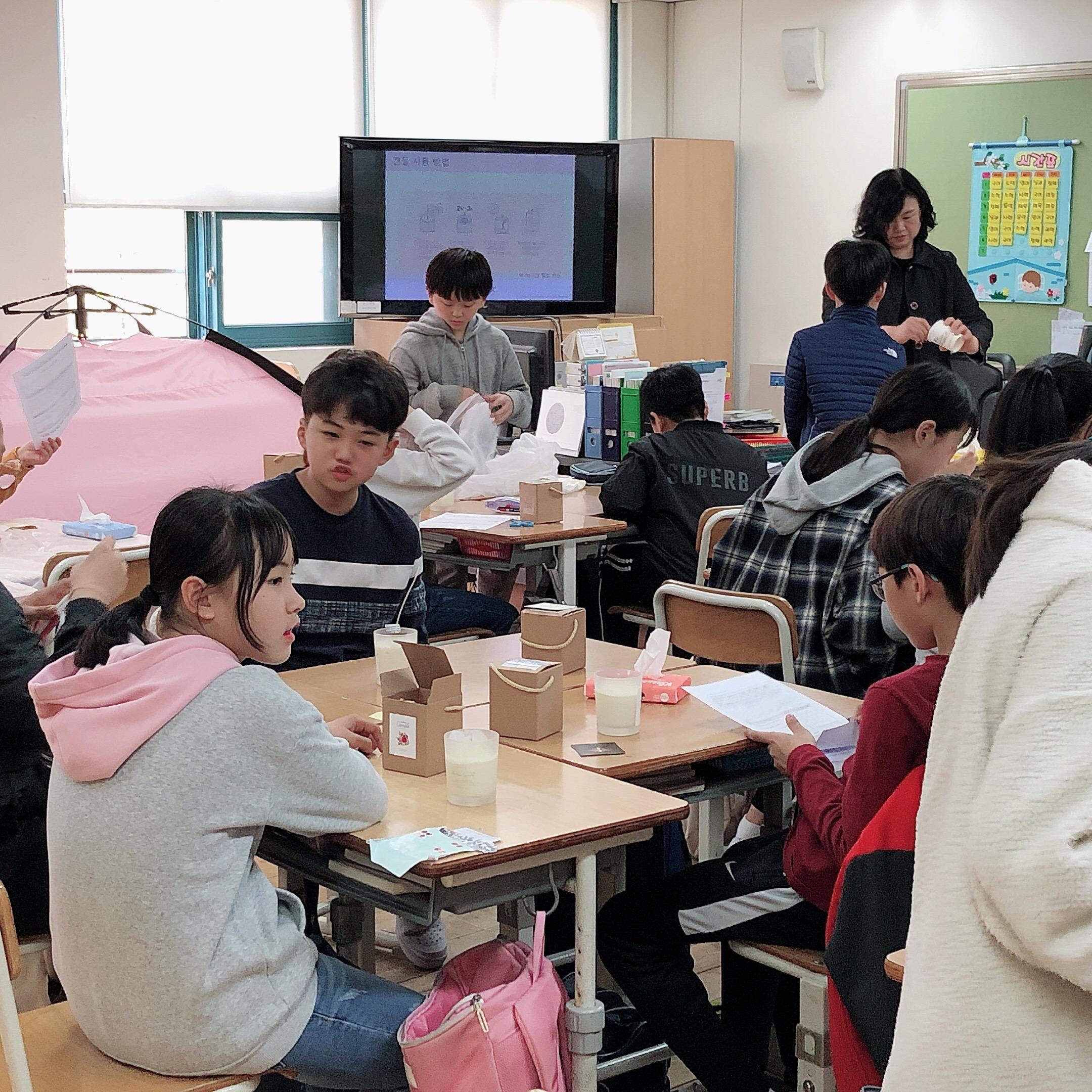 20190416 드림브릿지7 전농초 캔들공예 (오후) (16)