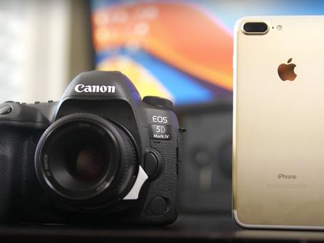 Canon 5D Mark II vs Iphone 12