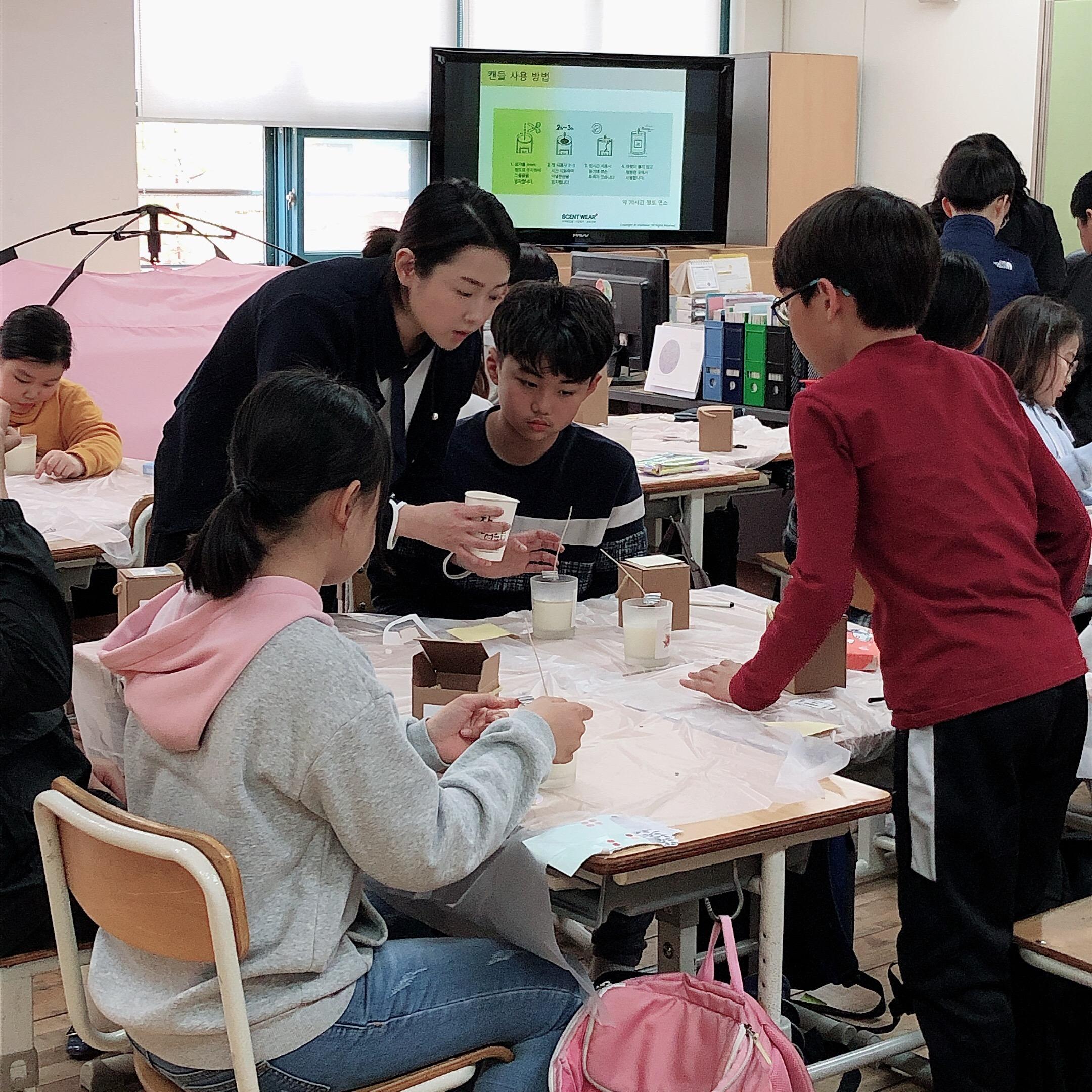 20190416 드림브릿지7 전농초 캔들공예 (오후) (14)