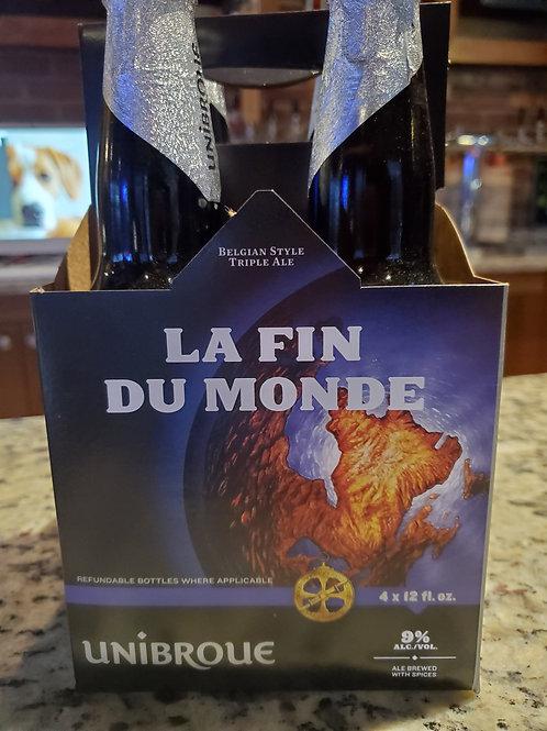 Unibroue La Fin Du Monde 4pk bottles