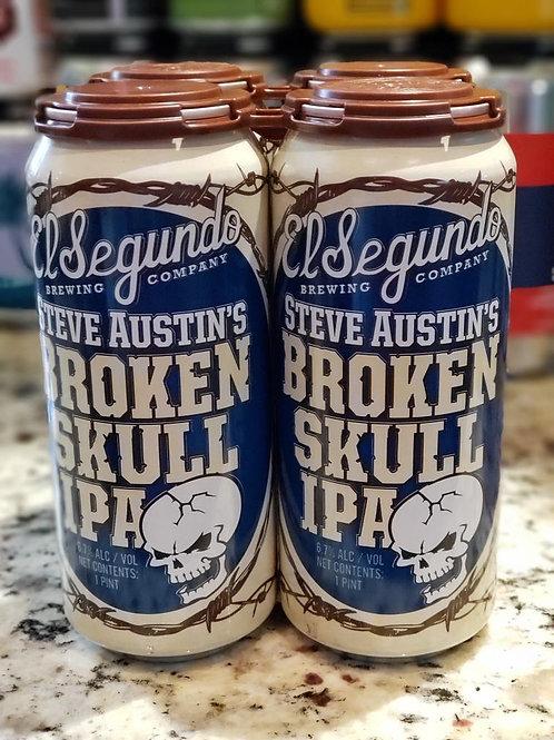 El Segundo Steve Austin's Broken Skull IPA 4PK Cans