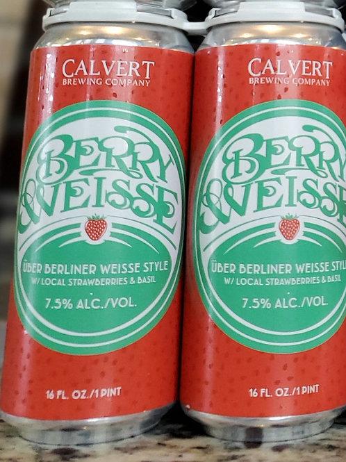 Calver Berry Weisse 4lk Cans