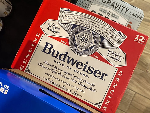 Bud 12pk cans