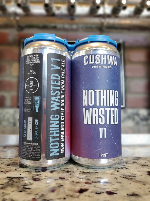 Cushwa Nothing Wasted 4pk Cans