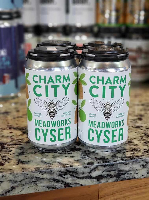 Charm City Meadworks Cyser 4pk Cans