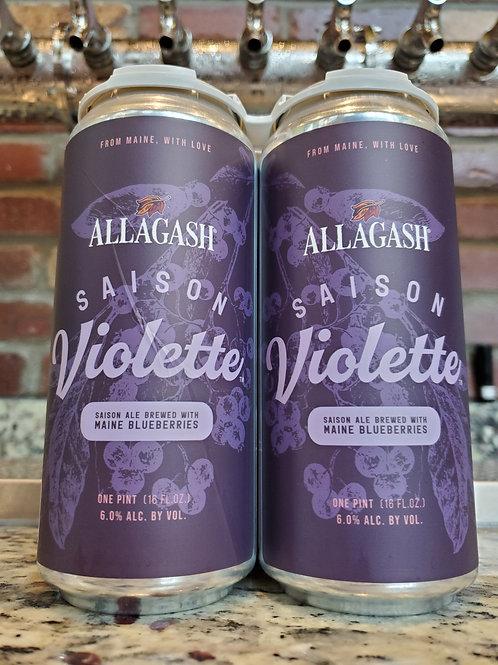Allagash Violette Saison 4pk 16oz Cans