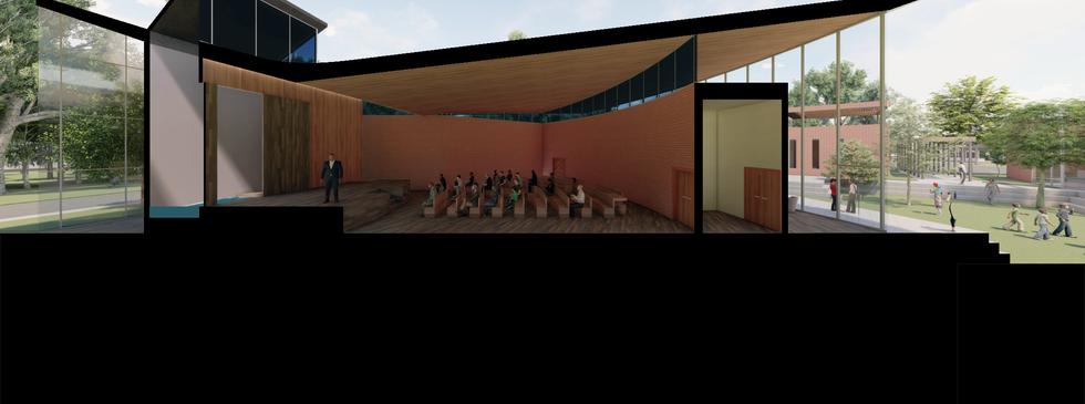 3D section - Sanctuary