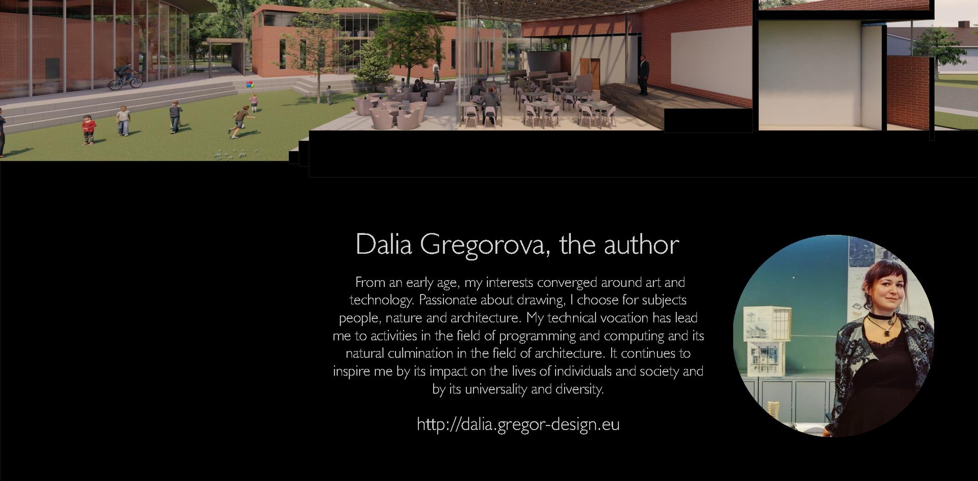 3D Section - Fellowship Hall / Restaurant