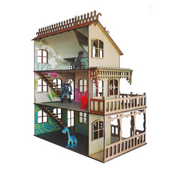 Dollhouse - side view