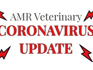 AMR Veterinary - Coronavirus Updates