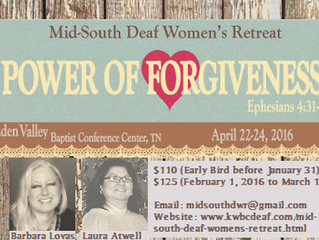 11th Annual Mid-South Deaf Women's Retreat