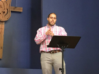 Corey Phillips preached a powerful word today at the Deaf Church 11/6/16