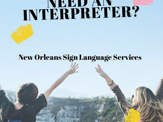 Contact us a nolasignlanguageservices@gmail.com