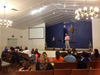Ryan Ralston preached today at the Deaf Church and his wife Shasta interpreted for him. Awesome mess