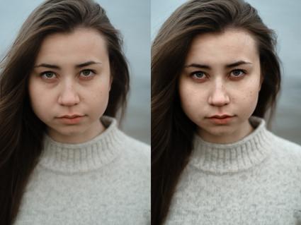 Express portrait retouch