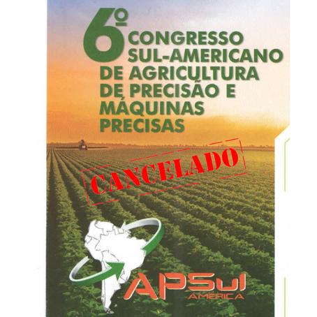 Comissão organizadora do Apsul decide cancelar a edição deste ano