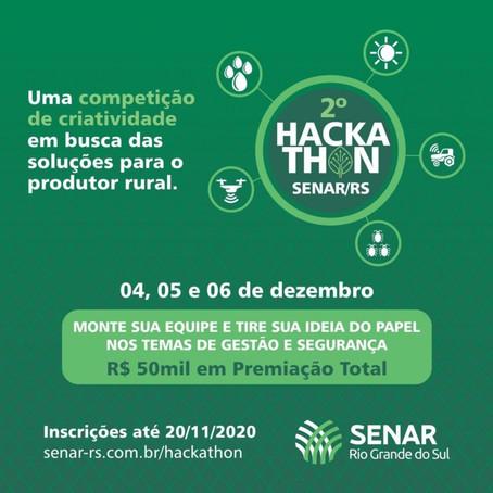 2° Hackathon Senar-RS distribuirá R$ 50 mil em prêmios