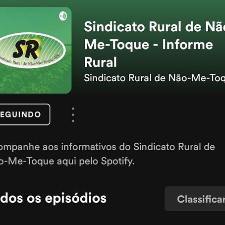 Novidade SR: Informe Rural no Spotify!