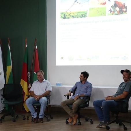 Produtores debatem as vantagens e os desafios da integração lavoura-pecuária