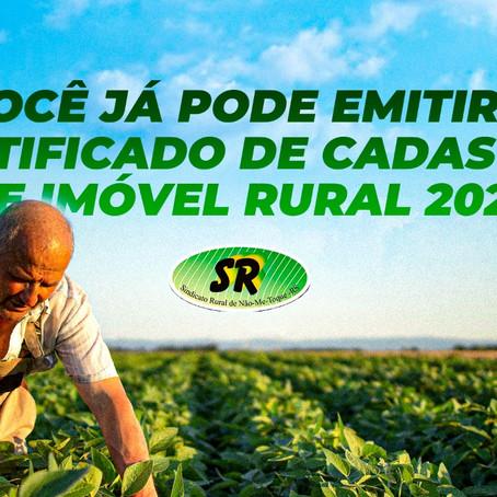 Certificado de Cadastro de Imóvel Rural 2021 já pode ser emitido
