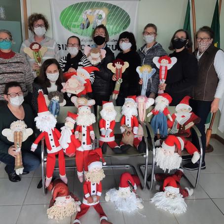 Curso de Excel e de Bonecos de Pano de Natal foram realizados pelo Sindicato Rural