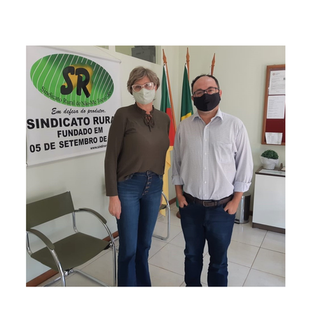 Coordenador Regional de Agricultura é recebido no Sindicato