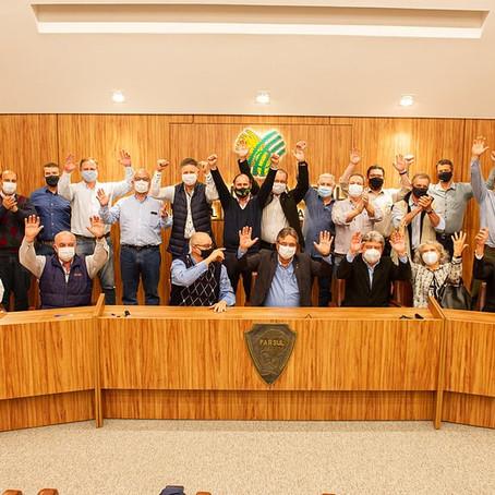 Presidente Teodora integra diretoria da Federação da Agricultura no novo mandato de Gedeão Pereira