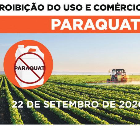 Paraquat: Anvisa confirma proibição de uso e venda a partir de 22 de setembro