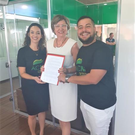 Sindicato Rural soleniza parceria comercial com ACNF Agro