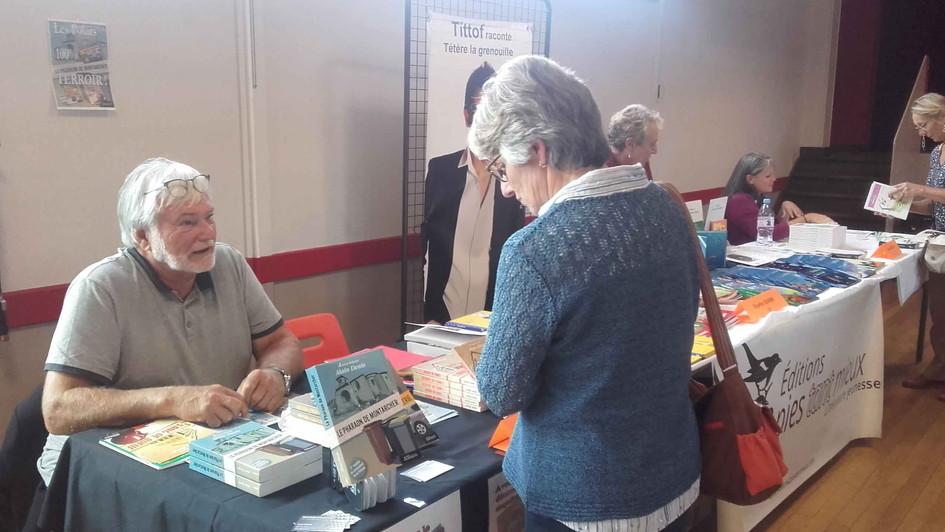 Salon du livre de Veigné