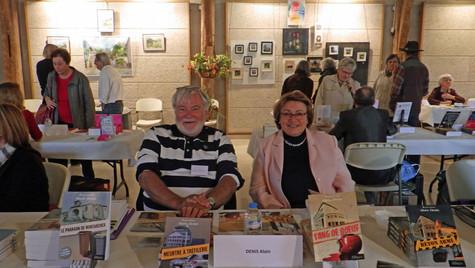 Salon du livre à Onzain