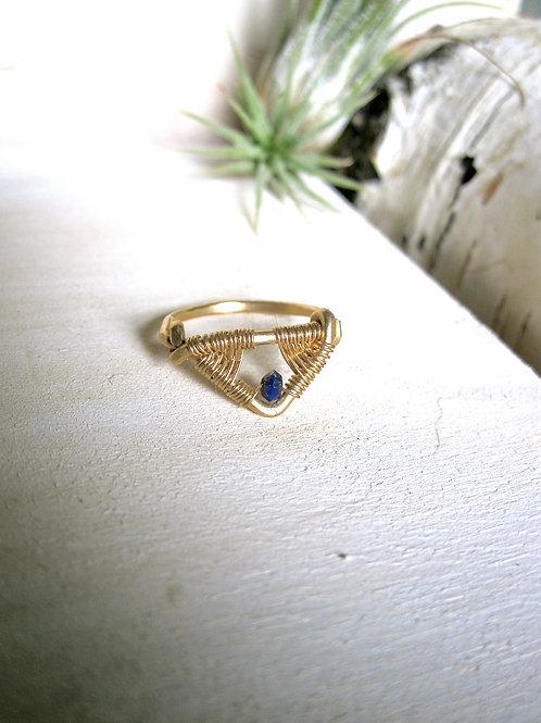 Amiti Lapis Ring