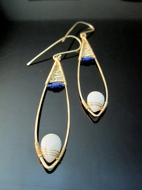 Faiza Earrings, Long