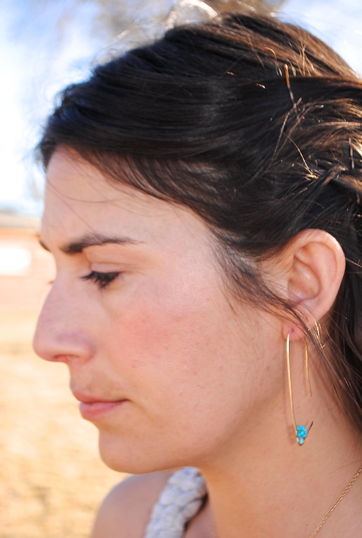 Amiti Earrings in Turquoise