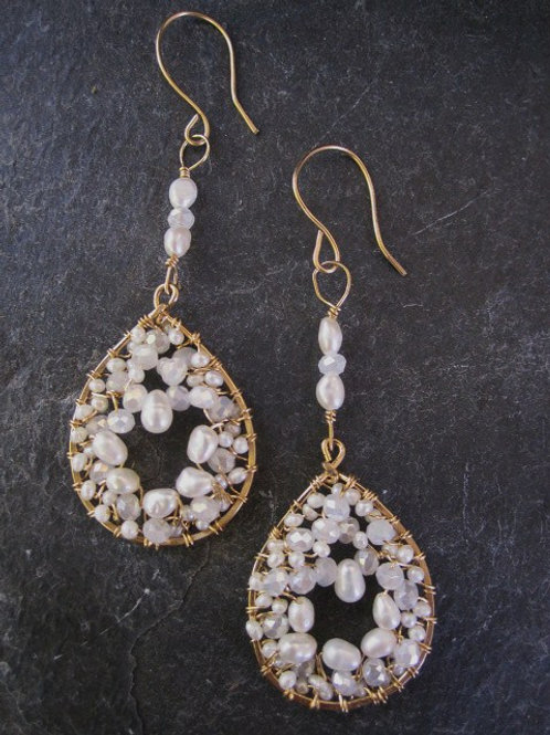 Cluster Freshwater Pearl drops