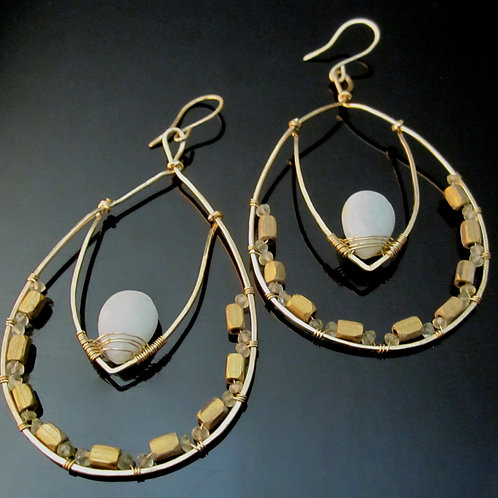 Faiza Hoop Earrings